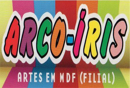 arco iris artes em mdf