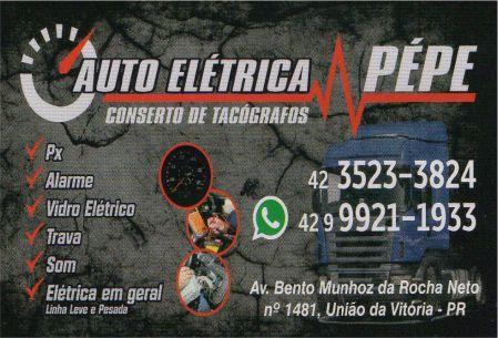 pepe auto eletrica