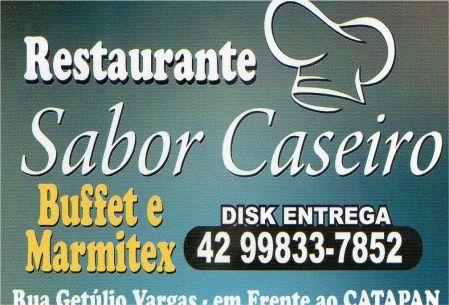 restaurante sabor caseiro
