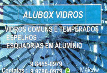 alubox vidros