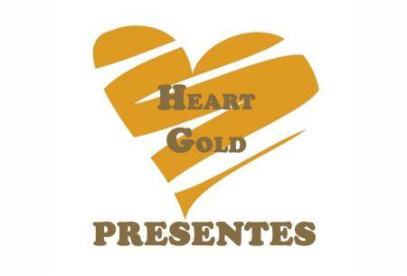 heart gold presentes