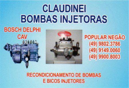 claudinei bombas injetoras