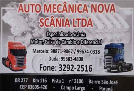 AUTO-MECÂNICA-SCÂNICA-LTDA