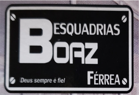 ESQUADRIAS BOAZ FÉRREA