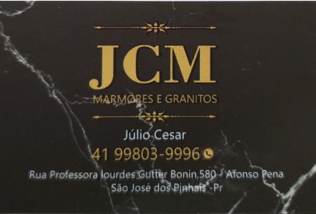 JCM MÁRMORES & GRANITOS