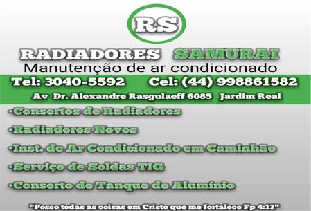 RADIADORES SAMURAI