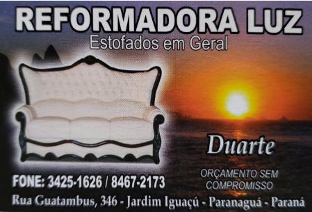 REFORMADORA DE ESTOFADOS LUZ
