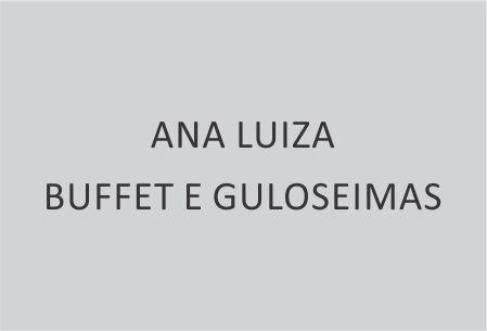 ANA LUIZA BUFFET E GULOSEIMAS