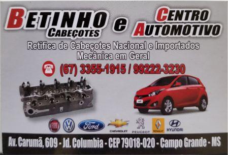 BETINHO RETÍFICA DE CABEÇOTES