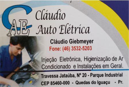 CLAUDIO AUTO ELÉTRICA