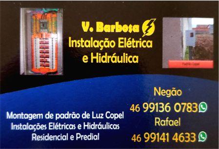 V. BARBOSA INSTALAÇÕES ELÉTRICAS