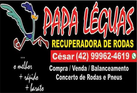 PAPA LÉGUAS RECUPERADORA DE RODAS