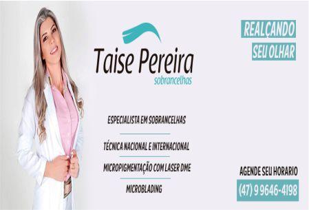 TAISE PEREIRA SOBRANCELHAS
