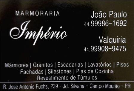 MARMORARIA IMPÉRIO CAMPO MOURÃO
