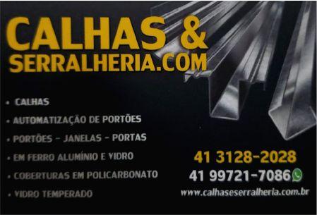 RV CALHAS E SERRALHERIA