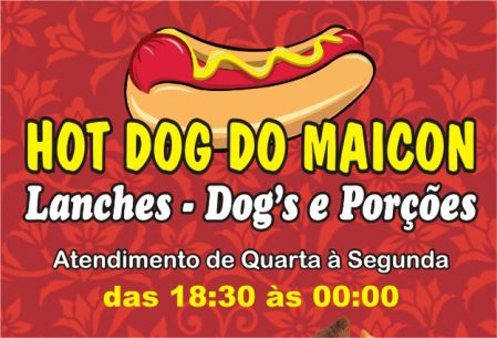 hot dog do maicon