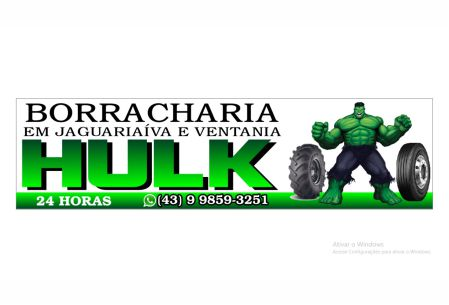 BORRACHARIA DO HULK