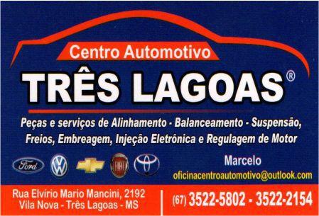 CENTRO AUTOMOTIVO TRÊS LAGOAS