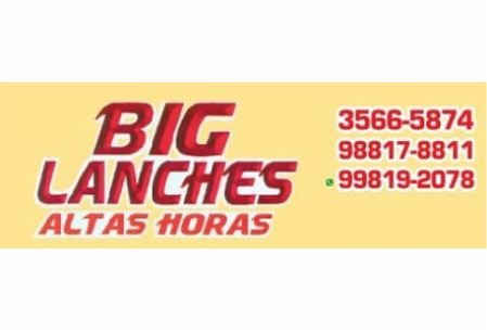 BIG LANCHES ALTAS HORAS VIDEIRA
