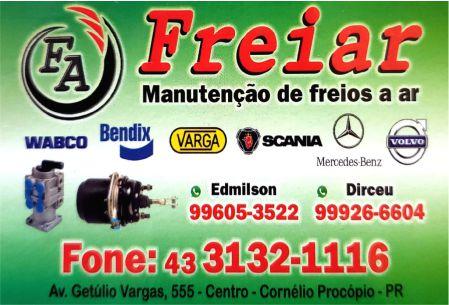 FREIAR MANUTENÇÃO DE FREIOS A AR