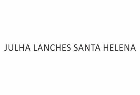 JULHA LANCHES SANTA HELENA