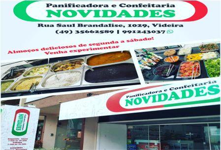 NOVIDADES PANIFICADORA E CONFEITARIA