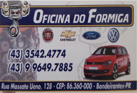 OFICINA DO FORMIGA BANDEIRANTES