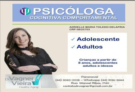 PSICÓLOGA ADRIELLE TOLEDO DELAPRIA