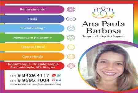 ANA PAULA BARBOSA TERAPEUTA