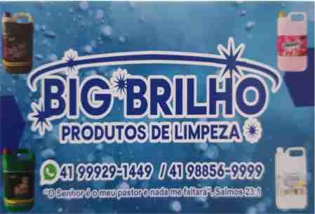 BIG BRILHO PRODUTOS DE LIMPEZA LAPA PR