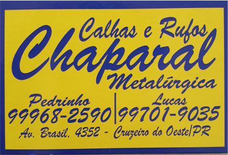 CALHAS E RUFOS CHAPARRAL