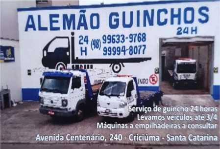 alemao guinchos criciuma