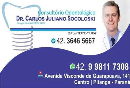 consultorio odontologico dr carlos juliano socoloski