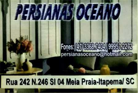persianas oceano itepema