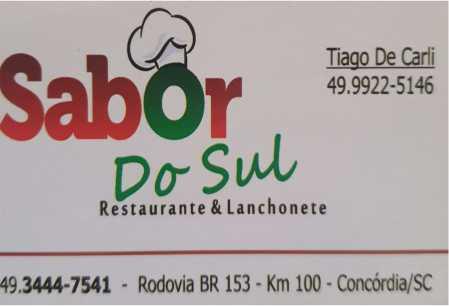 restaurante sabor do sul concordia