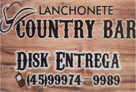 country bar lanchonete e pizzaria