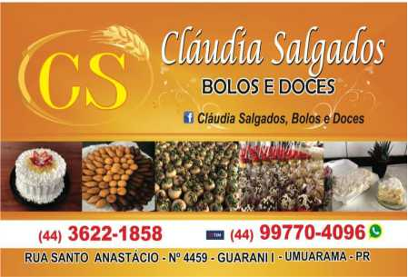 Cláudia Salgados Bolos e Doces