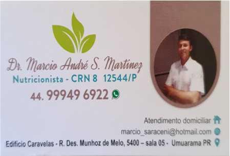 Dr. Marcio Martinez Nutricionista