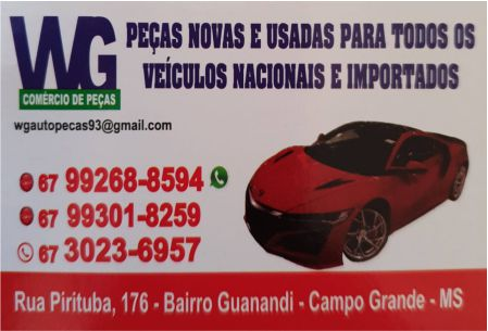 WG AUTO PEÇAS