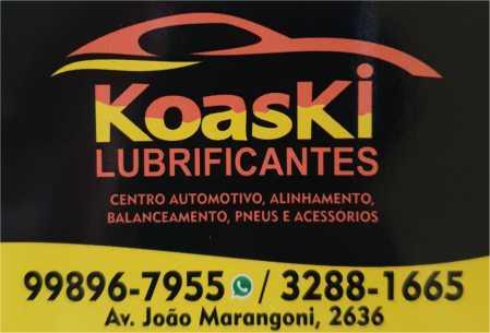 koaski pneus e lubrificantes