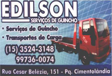 Edilson Guinchos Transporte e Cargas