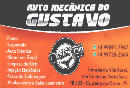 AUTO MECÂNICA DO GUSTAVO