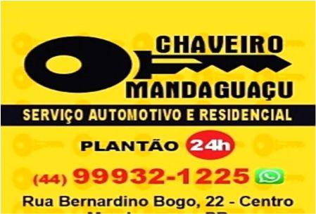 Chaveiro Mandaguaçu
