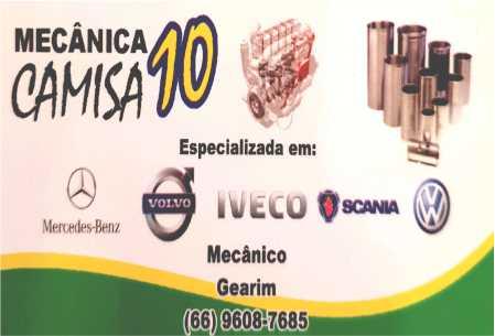 Mecânica Camisa 10