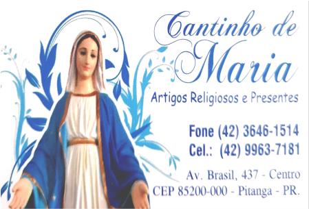 Cantinho de Maria