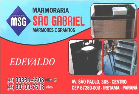 Marmoraria e Marcenaria São Gabriel
