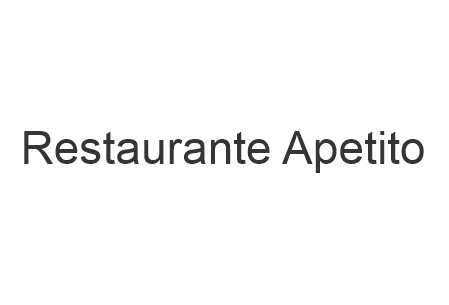 Restaurante Apetito
