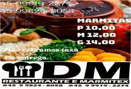 DM RESTAURANTE E MARMITEX