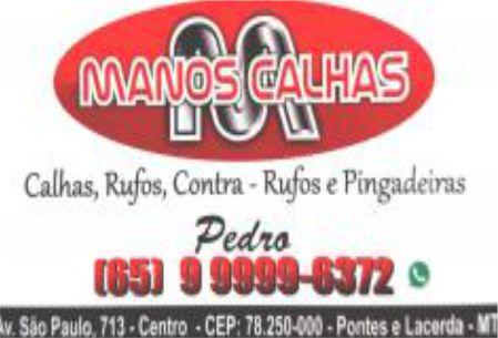 MANOS CALHAS