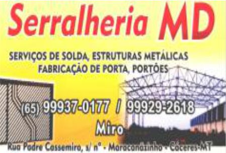 SERRALHERIA MD